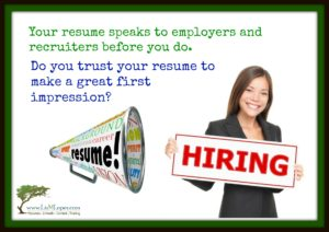 Does your resume make a great first impression?