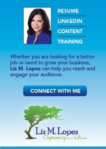 Liz M Lopez Connect with me on LinkedIn