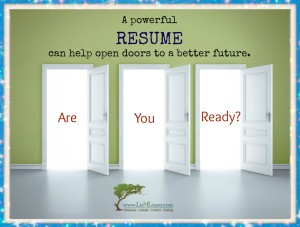 What if the job of your dreams is just one great resume away?
